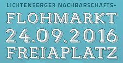 Flohmarkt am 24.09.2016 auf dem Freiaplatz Berlin Lichtenberg