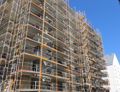 Nachverdichtung von Innenhöfen und bei Neubauten
