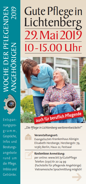 """""""Die gute Pflege in Lichtenberg geht weiter!"""""""