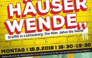 Graffiti Tour und Workshop 16.9