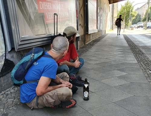 Obdachlosigkeit im Sommer