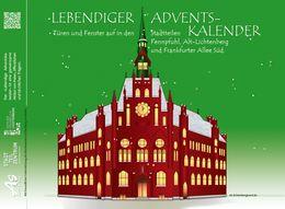 Bannerankündigung zum Lebendigen Adventskalender 2019 in Lichtenberg