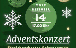Adventskonzert Streichorchester Saitensprung 14.12.2019 2