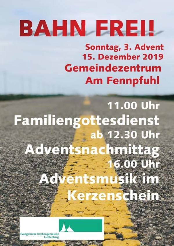 Familiengottesdienst & Adventsbasar